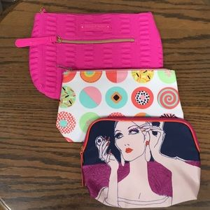 New Assorted Brand Cosmetic Bags